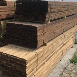 Kyllästetty puutavara